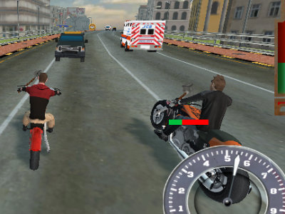 Online Game Bike Riders 3: Road Rage