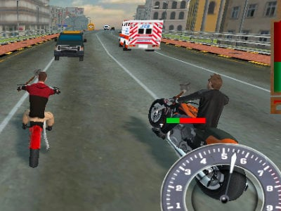 Online hra Bike Riders 3: Road Rage