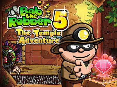Online hra Bob The Robber 5 Temple Adventure