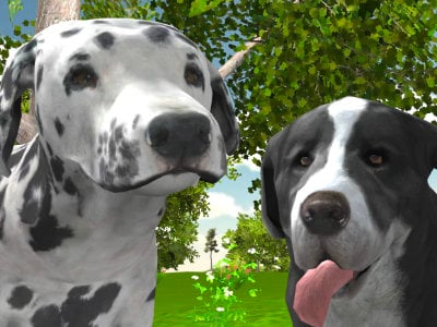 Online Game Dog Simulator 3D