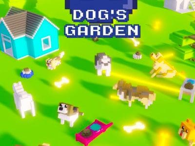 Online hra Dog's Garden
