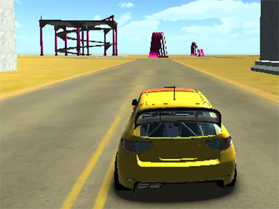 Online Game Extreme Car Stunts 3D