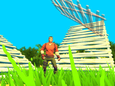 Juego en línea Fort Building Simulator