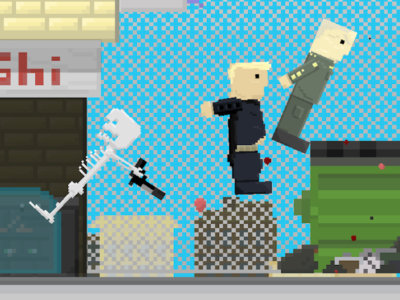 Онлайн-игра Getaway Shootout