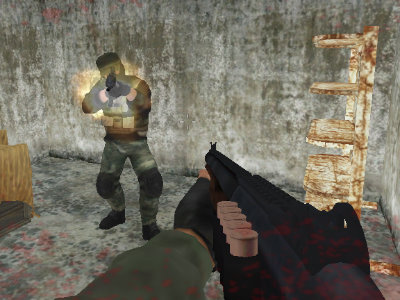 Online Game Heavy Combat
