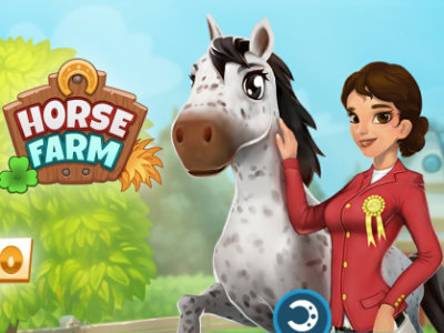 Online Game Horse Farm