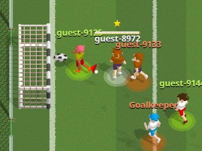 Online hra Instant Online Soccer