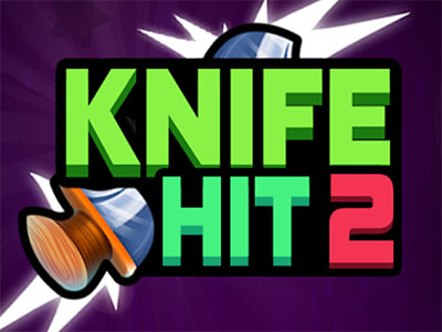 Online hra Knife Hit 2