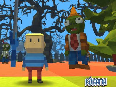 Online Game Kogama: PlantsVsZombie