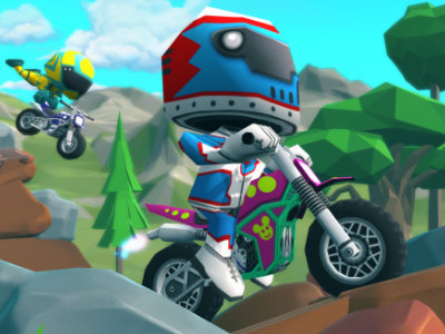 Online Game Moto Trial Racing