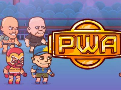 Online hra Pro Wrestling Action