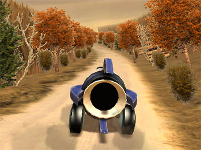 Online Game Rocket Car Rally