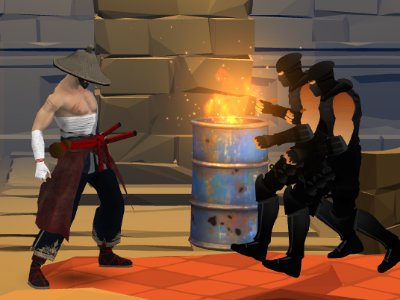 Online Game Samurai Fighter