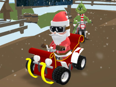 Online hra Santa's Rush: The Grinch Chase