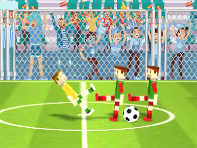 Online Game Soccer Physics 2
