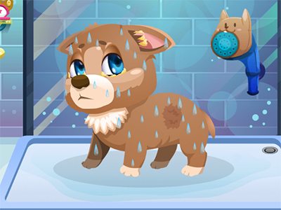 Online Game Stray Dog Care