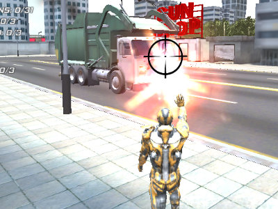 Online Game Super Crime Steel War Hero