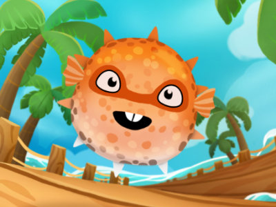 Online Game Super Puffer Fish