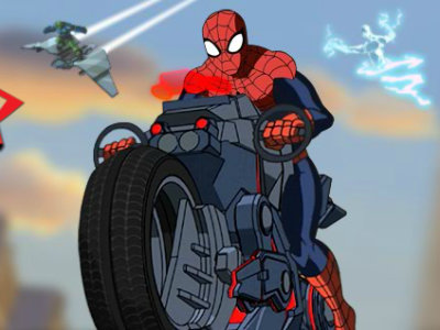 Ultimate Spider-Man Cycle