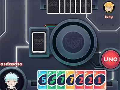 Online hra UNO Heroes