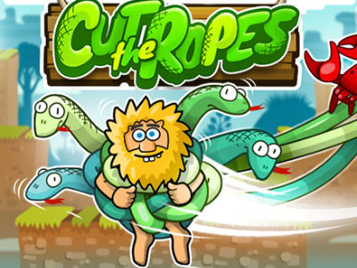 Online Game Adam and Eve: Cut the Ropes