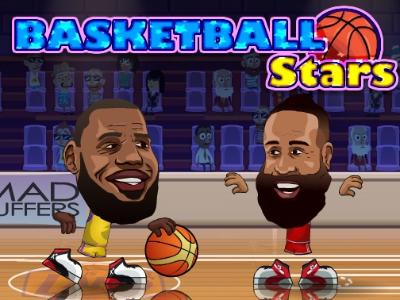 Онлайн-игра Basketball Stars 2D