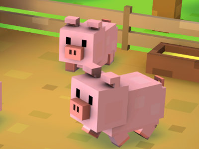 Online Game Blocky Farm