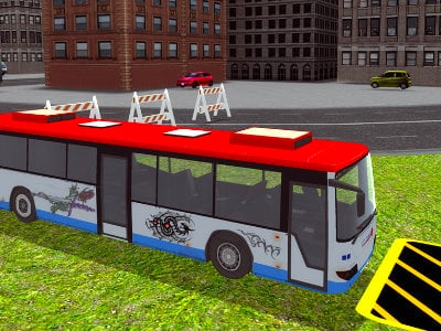 Online hra Bus Parking Simulator