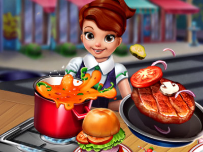 Online Game Cooking Fast: Hotdogs And Burgers Craze