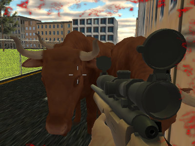 Online Game Crazy Bull Attack