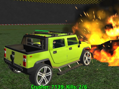 Online Game Crazy Demolition Derby V1