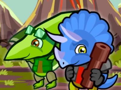 Online Game Dino Squad Adventure 3