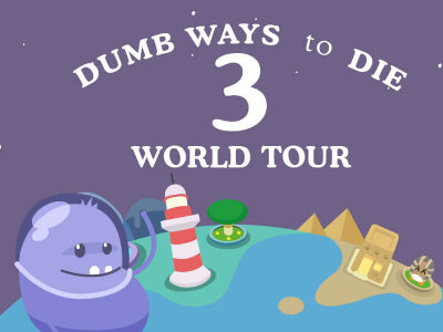 Online hra Dumb Ways to Die 3: World Tour