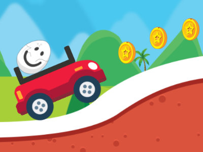 Online Game Eggy Car