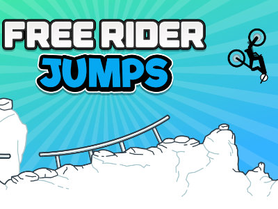 Online Game Free Rider Jumps