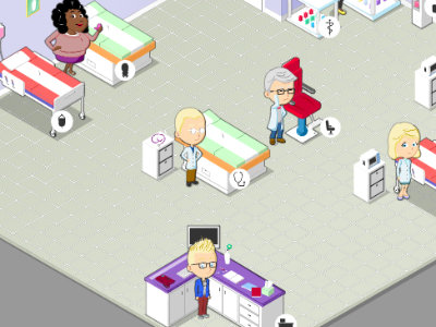 Online hra Hospital Frenzy 4
