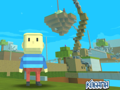 Онлайн-игра Kogama: Minecraft Sky Land