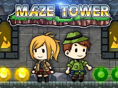 Online Game Maze Tower