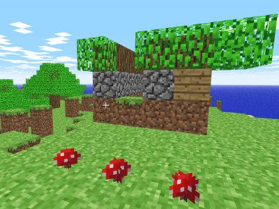 Juego en línea Minecraft Classic