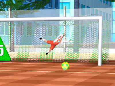 Online Game Street Freekick 3D