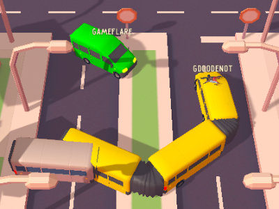 Online Game Snakebus.io