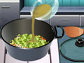 Online Game Sara's Cooking Class: Potato soup