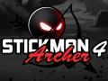 Online hra Stickman Archer 4