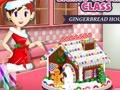 Juego en línea Sara's Cooking Class: Gingerbread House