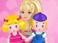 Juego en línea Barbie Twins Babysitter