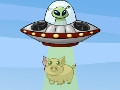 Online Game Barnyard UFO