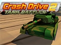 Juego en línea Crash Drive 2: Tank Battles