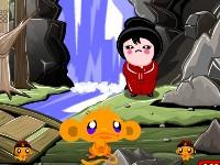 Online hra Monkey Go Happy Ninjas 2