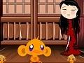 Online hra Monkey Go Happy Ninjas
