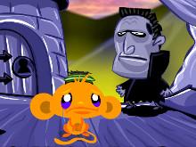 Online hra Monkey Go Happy Ninja Hunt 2